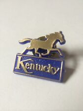 Vintage KENTUCKY Derby horse lapel pin back tie tack