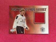 Upper Deck Manchester United Legends 2002 - Match-Worn Shirt Cards - CHOOSE/PICK