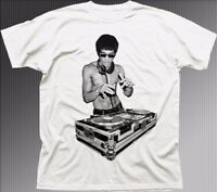 Bruce DJ Lee  rave inspired by Kung-Fu cotton t-shirt FN9273