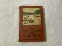 Boy Scout BSA The Boy Scouts on Swift River Thornton Burgess 1913 HC
