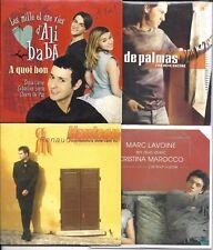 LOT8 SINGLES VF HANTSON/LAVOINE MAROCCO/DE PALMAS/RED/VILLAFRANCA/ALIZEE/STAR AC