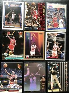 🏀 MICHAEL JORDAN NBA Upper Deck Hologram ULTRA Skybox Mixed NBA Lot (9 Cards)🔥