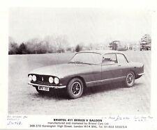 Bristol 411 Series V 412 Convertible 1975 - UK Sales Brochure Own Collection VGC