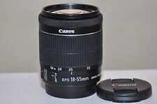 Canon EF-S 18-55mm f/3.5-5.6 IS STM Lens  ( Excellent!! )
