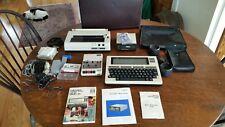 Radio Shack TRS-80 Model 100 Portable Computer Laptop Printer Disk Drive & More