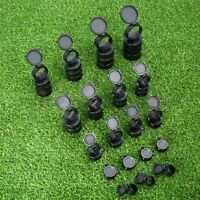 Rifle Scope Lens Cover Flip Up Quick Spring Protection Cap Objective Lense Lid