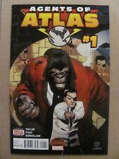 Agents of Atlas #1 Marvel Secret Wars 2015 Series 9.6 Near Mint+