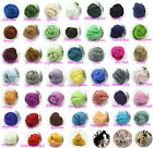 Wool A+++ Spinning Roving Corriedale Needle felting Top Dyed Felting Fiber Art #
