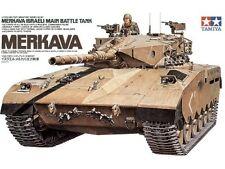 TAMIYA - 1:35 Plastic Model Kit - Israeli Merkava MBT Kit - CA227 - #35127