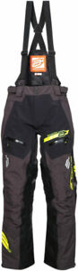 Arctiva Snow Snowmobile VIBE Snowbike Bibs/Pants (Black/Yellow) 32