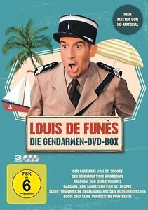 Louis de Funes - Gendarmen DVD Box (2019, DVD video)