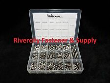 Button Allen Socket Head Cap Screw Assortment 211pc Stainless Steel / Round Head