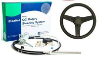 """SEASTAR/TELE  SS13712  12 QUICK CONNECT ROTARY STEERING PACKAGE WITH 13"""" WHEEL"""