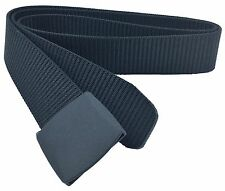 Non-Metal Travel Belt (Airport X-ray Scanner Friendly) - Black