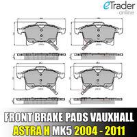 Vauxhall Astra H Front Brake Pads MK5 Pad Set 2004-2011 PREMIUM QUALITY UNIPART