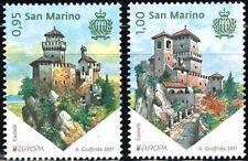 [CF1351] San Marino 2017, Serie Europa: Castillos (MNH)