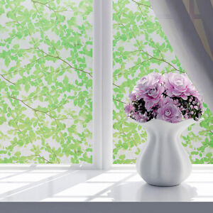 """78"""" Privacy Frosted Window Film Glass Stickers Self Adhesive Bathroom Home Decor"""