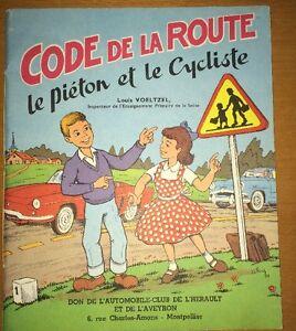 ENFANTINA.Code De La Route Pour Enfants, 1960.