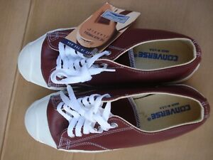 Converse Jack Purcell Men Size 8.5 Leather Brown NOS Made In U.S.A.