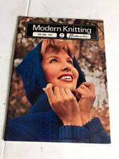 Modern Knitting Magazine by Knitmaster - February March 1965