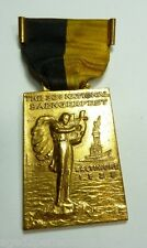 1938 SAENGERFEST National Convention Medallion Baltimore Md medal ribbon pin