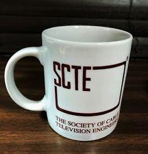VTG SCTE Society Cable Television Engineering Broadband Coffee Mug Electronic