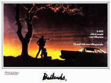 BADLANDS Movie MINI Promo POSTER B Martin Sheen Sissy Spacek Warren Oates