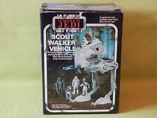 STAR WARS ROTJ SCOUT WALKER VEHICLE VINTAGE 1983 IN  GOOD BOX