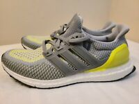 New Adidas Ultra Boost 2.0 ATR Glow in the Dark Gray Lime BB4145 Men's Size 9.5
