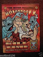 MOTORBOOTY #7 punk fanzine- Von Lmo *The LAST POETS *Rainbowhead *Chris Ware +