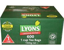 LYONS Original Green Blend Irish Breakfast 1 cup 600 Tea Bags Catering