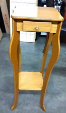 New listing Warm Oak Square plant Stand Accent table Ore International H-39Oak