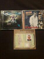 GIGI D'ALESSIO - TRE CD - NUOVI - VEDI DESCRIZIONE