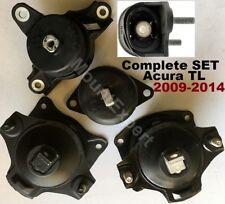 5pcSet Motor Mounts fit Acura TL 2009 - 2014 3.5L 3.7L Engine AUTO Trans Mounts