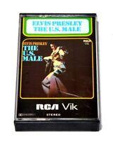 Elvis Presley Cassette Tape The U.S. Male RARE Vintage album rock blues soul