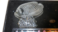CLEAR CRYSTAL FISH PAPER WEIGHT/FIGURINE