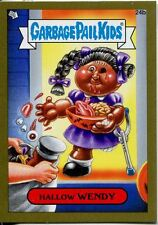 Garbage Pail Kids Mini Cards 2013 Gold Parallel Base Card 24b Hallow WENDY