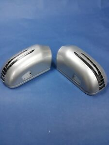2 ARROW LED SILVER DOOR MIRROR COVERS FOR 1995-1998 MERCEDES BENZ W140 S-CLASS