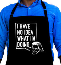 No Idea Cooking BBQ Funny Apron Gift for Dad or Grandpa by ApronMen