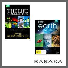 David attenborough Life Collection + Earth collection DVD Box set R4 BBC New
