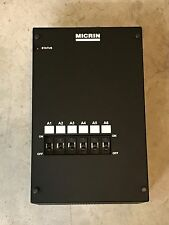 MICRIN MTC2921-6-L-RRRRRR 6 POSITION WALL MOUNT PDU WITH BREAKERS MTC2921