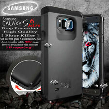NEW Samsung Galaxy S6 Active Case Floor Killer Cover With Screen Protector Gray
