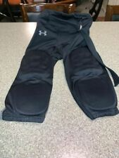 Under Armour Padded Football Practice Pant Youth Large Black Performance Excelle