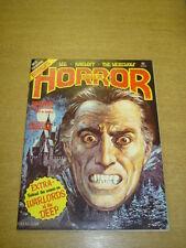 HALLS OF HORROR #21 VF (8.0) JUNE 1978 HAMMER HORROR MAGAZINE (A)
