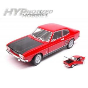 WELLY 1:24 1969 FORD CAPRI 24069W DIE-CAST RED