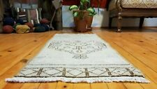 "Vintage Turkish Rug 1'6"" × 3'4"""