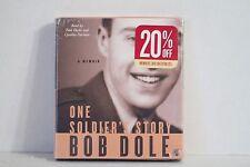 One Soldier's Story : A Memoir by Bob Dole (2005, CD, Abridged)
