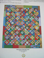 Nine Patch Plaid Quilt Pattern Creative Scrap Quilting House of White Birches