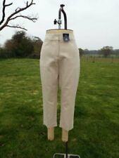 Smart Stone M&S Mid Rise 7/8th Length Slim Stretch Trousers UK 14R BNWT RRP £25