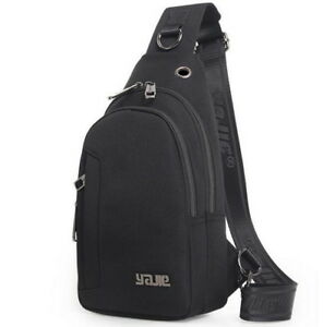 Chest Pack Sling Shoulder Backpack Water Resistant Cross body Bag l Day pacK